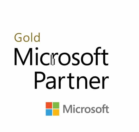 logotipo Microsoft Partner Gold